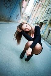 Girl Birgitta in Monaco